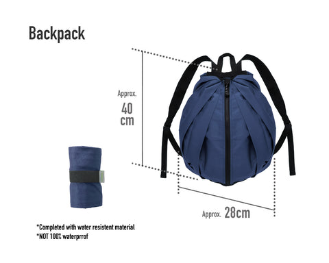Most convenient Compact Foldable Backpack to carry with you