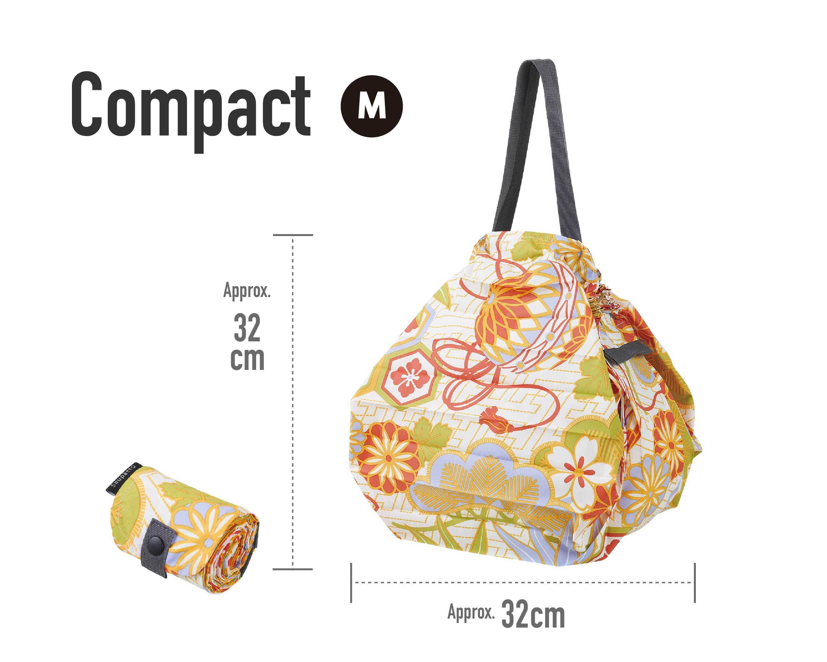 Shupatto Award Winning Eco Foldable Tote Bag Japanese Limited Edition