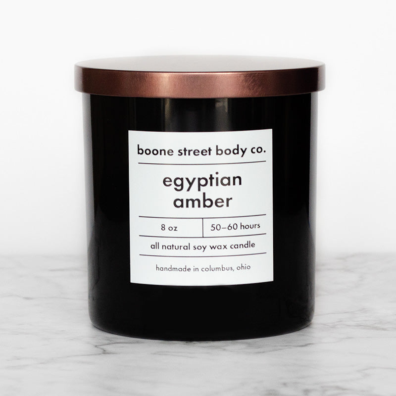 Egyptian Amber Candle - Boone Street Body Co.