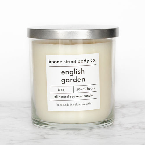 English Garden Candle - Boone Street Body Co.