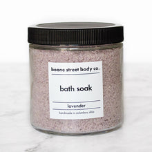 Load image into Gallery viewer, Lavender Bath Soak 16oz - Boone Street Body Co.