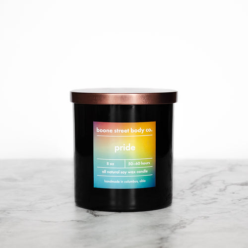 Pride Candle - Boone Street Body Co.