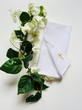 Load image into Gallery viewer, Khadi Hand-Spun Cotton Napkins - Jasmine (Set of Four)