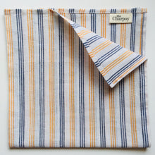 Load image into Gallery viewer, Khadi Hand-Spun Cotton Napkins - Neroli (Set of Four)