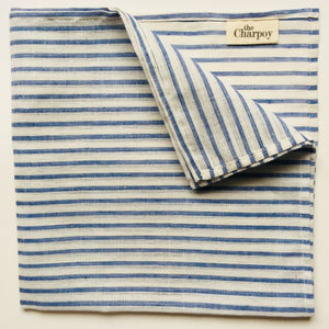 Khadi Hand-Spun Cotton Napkins - Indigo (Set of Four)