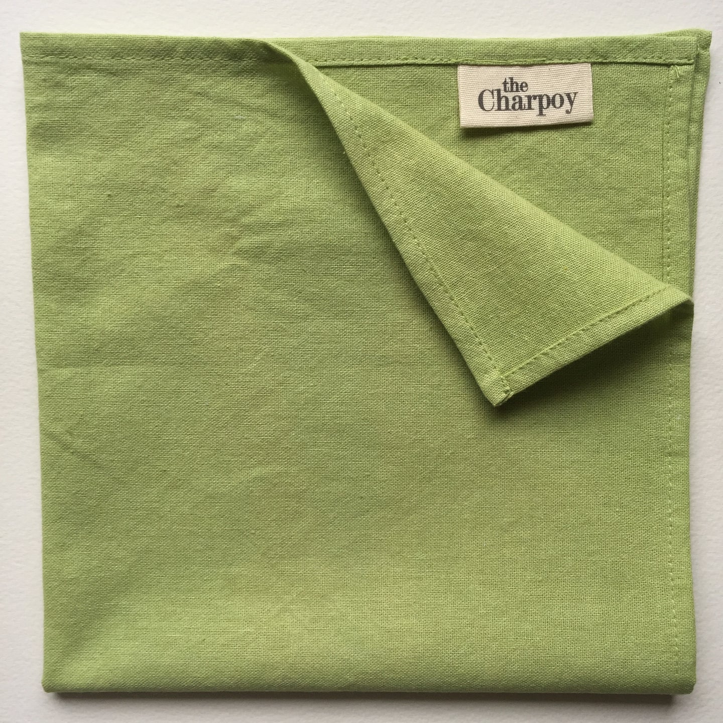 Lemon Grass, Pure Cotton & Hand Dyed Napkin