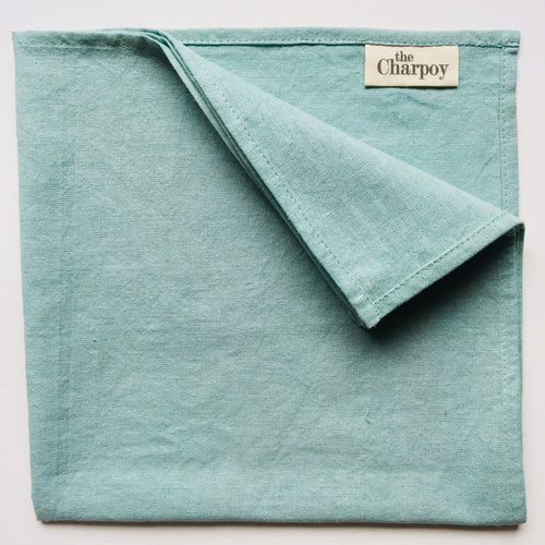 Mint, Pure Cotton & Hand Dyed Napkin