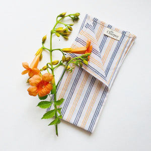 These beautifully striped Khadi cotton Napkins are simple and yet elegant.