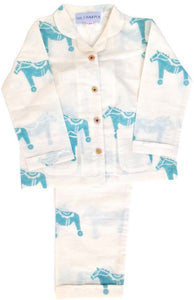 Organic Cotton Pony Pyjamas