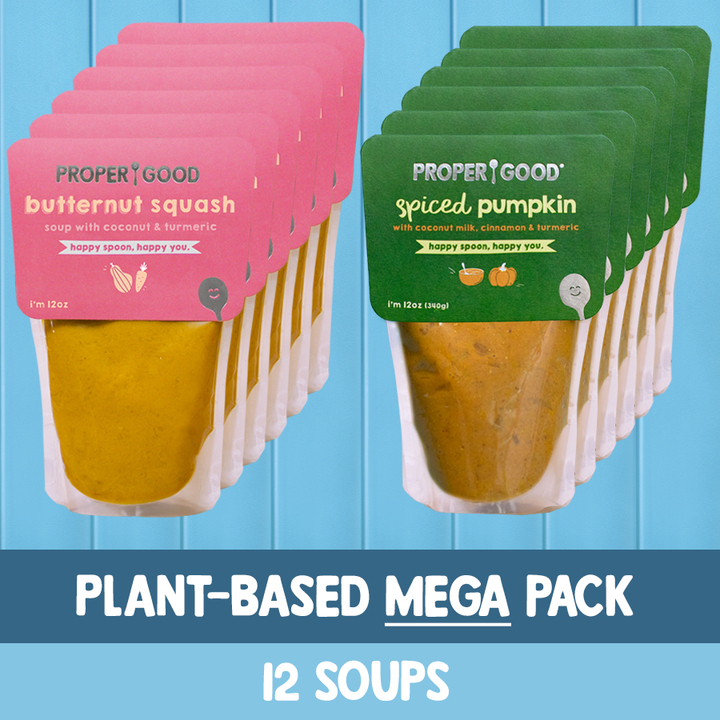 Plant Based Mega Pack - 6 Squash, 6 Pumpkin - Proper Good