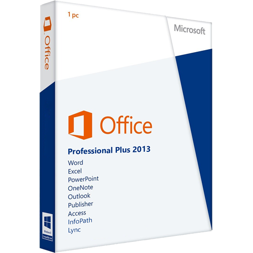 Microsoft Office 2013 Professional Plus - Martsoftware