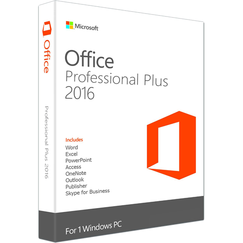 Microsoft Office 2016 Professional Plus - Martsoftware