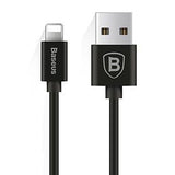 Baseus Lightning Elastic Apple Cable 1.8 A 1,6m Black (CALIGHTNG-EL01)