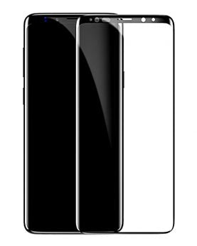 Baseus Samsung S9 Plus 0.3 mm All-screen Arc-surface T-Glass Black (SGSAS9P-TM01)