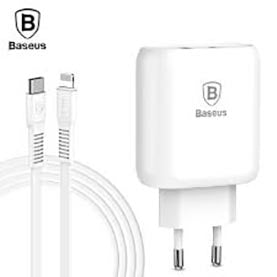 Baseus Travel Charger Bojure series Type-C PD+U quick charge 32W White (TZTUN-BJ02)
