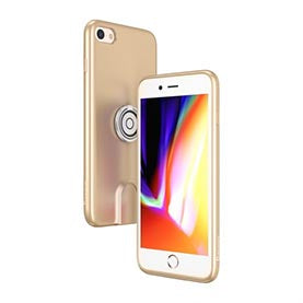Baseus Wireless Charging Magnetic Multi-function case iPhone 8/7 Plus Gold (WXAPIPH8P-17)