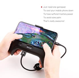 Baseus  Manette de jeux Game Tool Cool Play Games Dissipate-heat Hand Handle