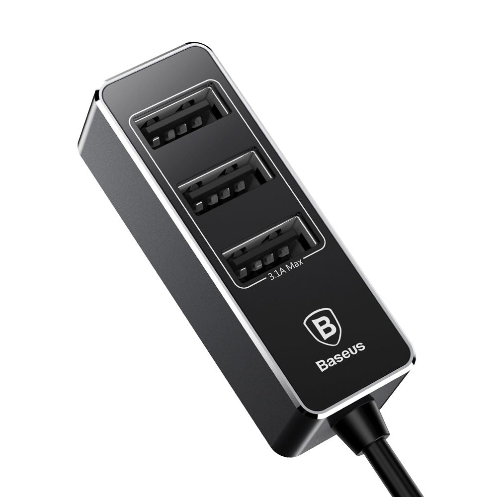 Baseus - Chargeur Allume Cigare 4 USB