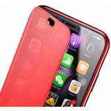 Baseus iPhone X case Touchable Red (WIAPIPHX-TS09)