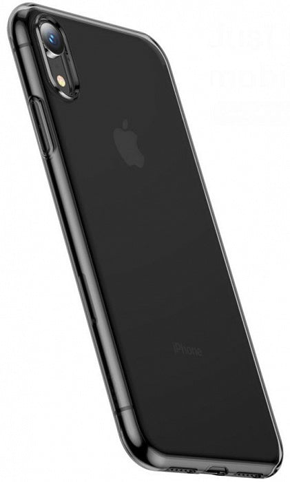 Baseus iPhone Xr case Simplicity Transparent Black (ARAPIPH61-B01)