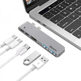 Concentrateur USB multfonctions Baseus HUB Thunderbolt C+Dual Type-C to USB3.0