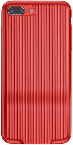 Baseus iPhone 7/8 Plus Audio coque rouge (WIAPIPH8P-VI09)