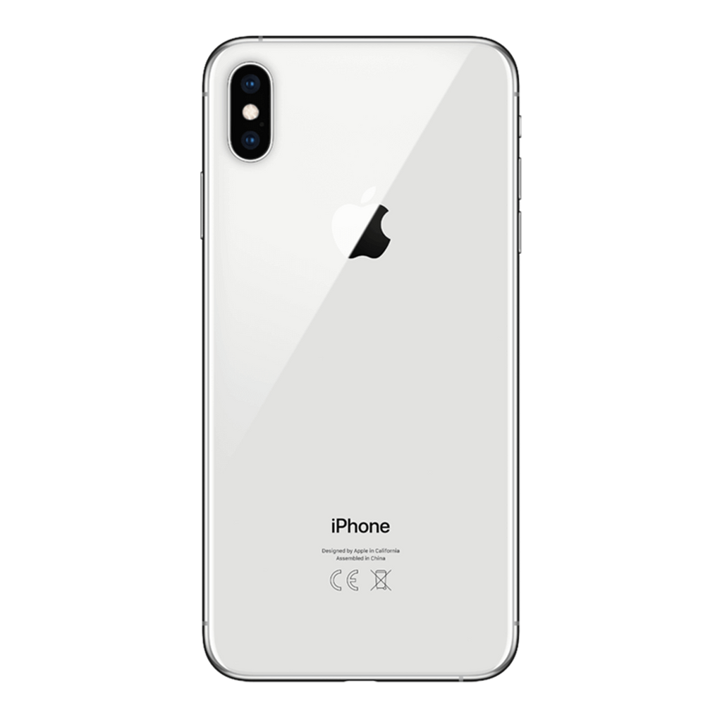 Iphone-xs-argent-dos