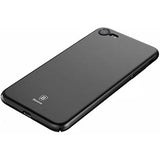 Baseus iPhone 7/8 coque Thin Black (WIAPIPH7-AZB01)