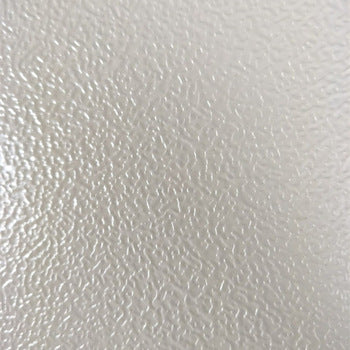 26ga. Stucco White Embossed <br> Galvanized Steel