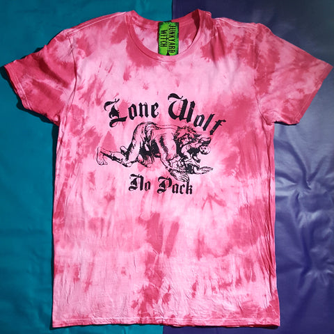 "Lone Wolf No Pack ""Bubblegum Blast"" T-shirt Extra Large"