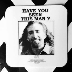 "Twin Peaks Bob Con Air Cage Wanted Poster 2"" Vinyl Sticker"
