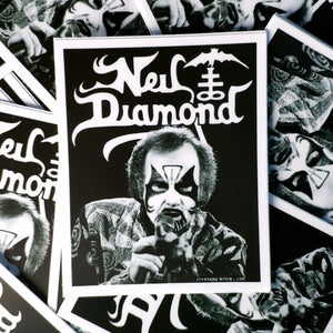 "Diamond Neil King 3""x 2"" Vinyl Sticker"