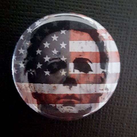 Michael Myers goes to DC 1.25 inch Button or Magnet