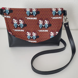 The Shining Twins Flapover Purse