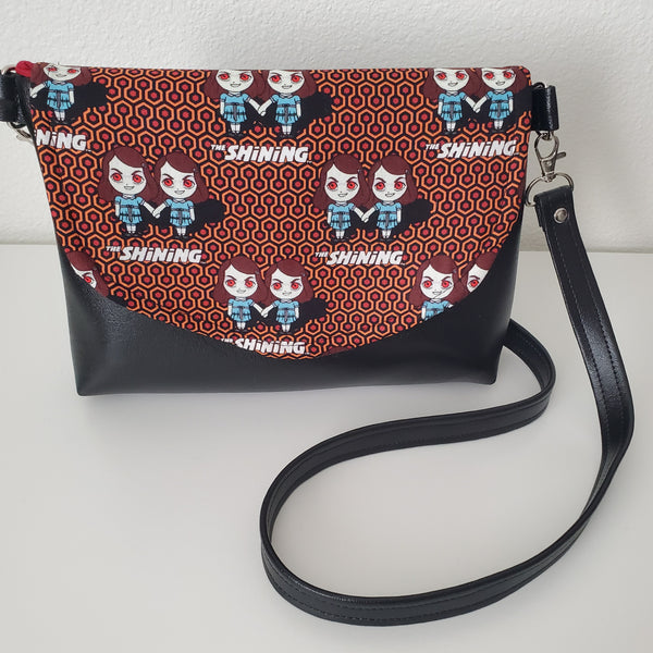 The  Shining Twins Black Horror Movie Purse