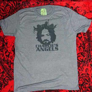 Charlie Manson's Angels T-shirt Heather Gray