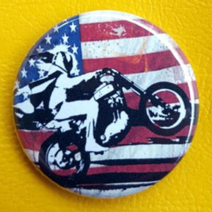 Evel Knievel 1.25 inch Pinback Button or Magnet
