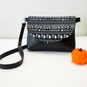 Limited Glow in the Dark Halloween Flapover Purse