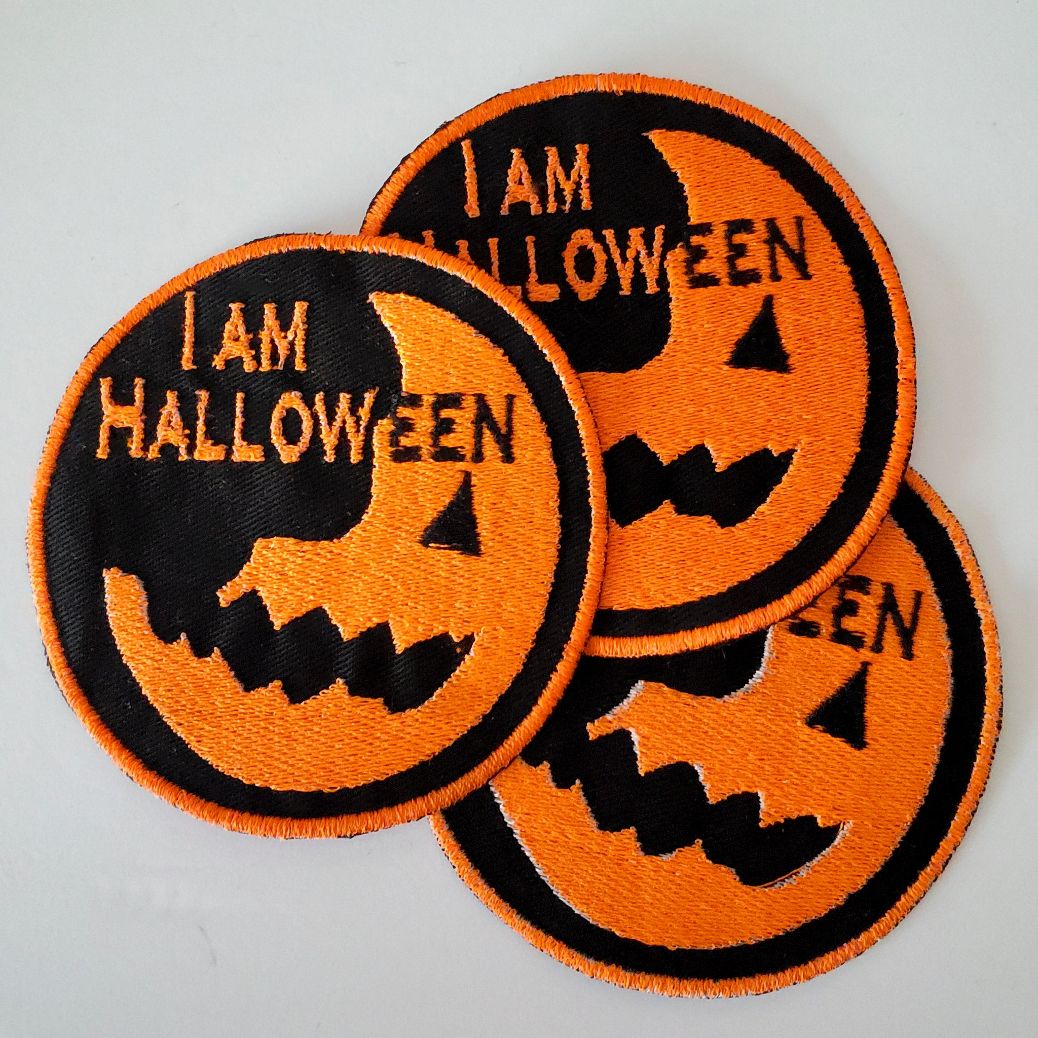 I am Halloween Patch
