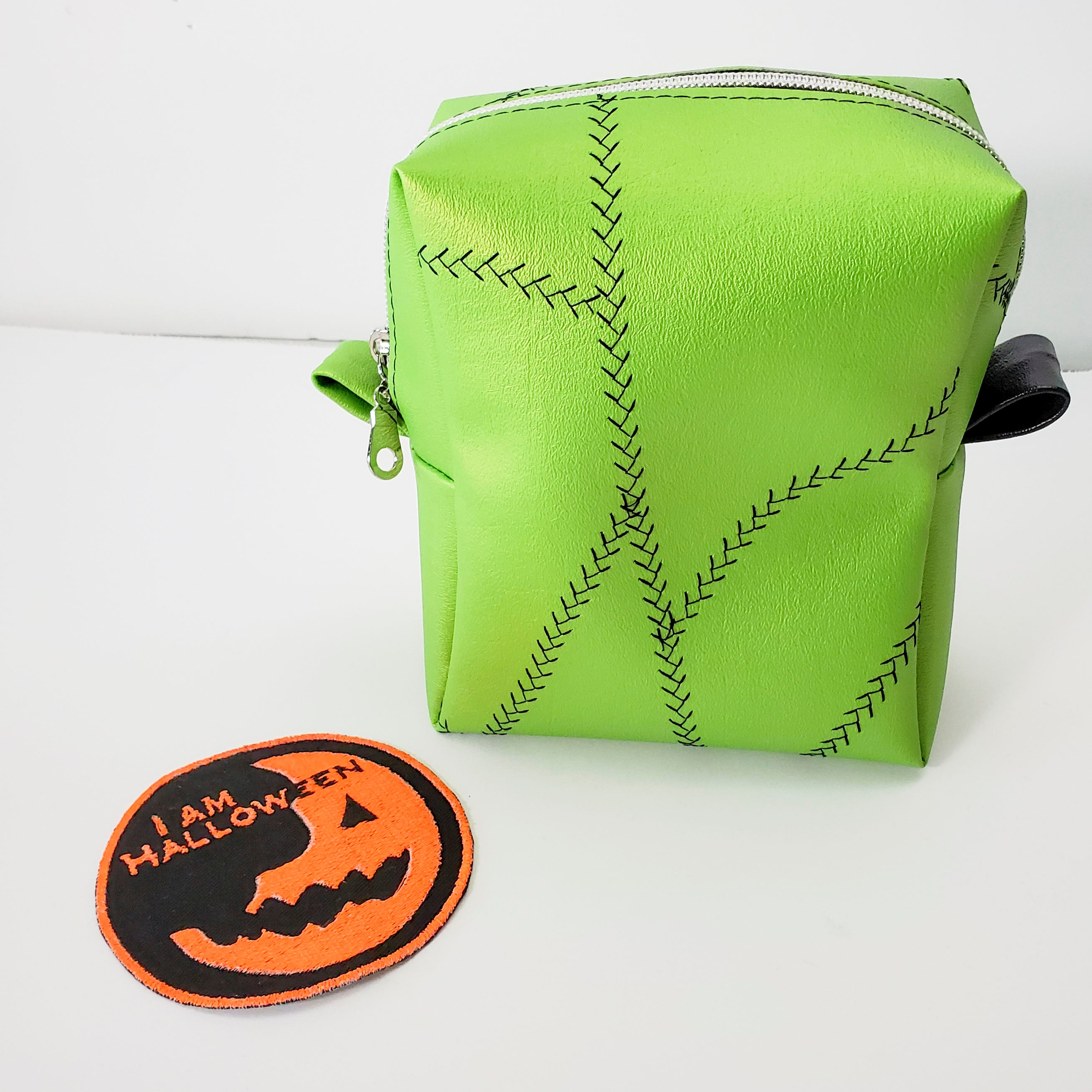 Franken-Stitch Box Buddy Pouch