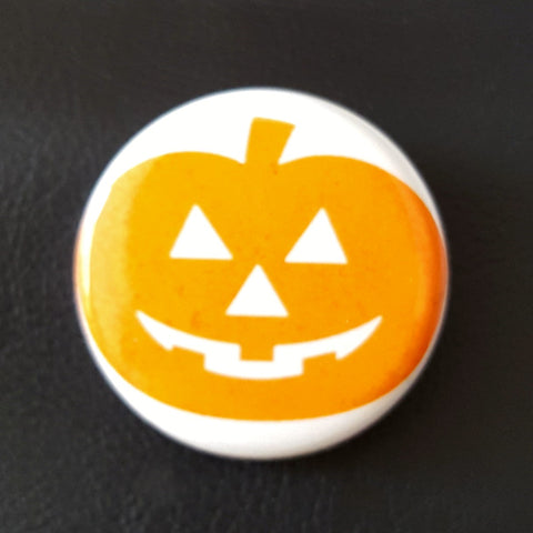 Halloween 3 hypno pumpkin (Glow in the dark edition)  1.25 inch Pinback Button