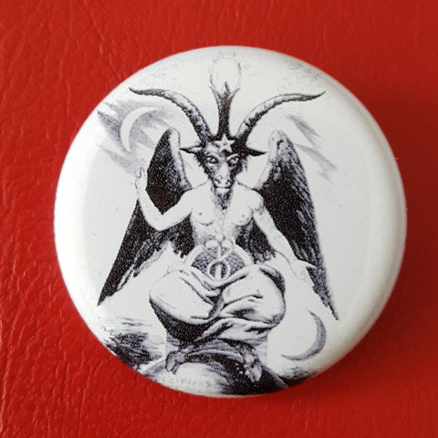 Baphomet (Glow in the dark edition)  1.25 inch Pinback Button