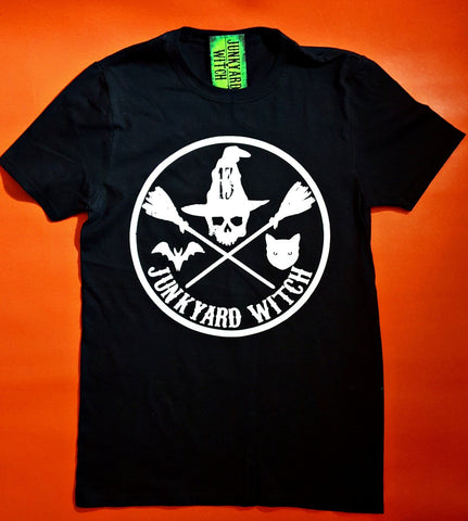 Junkyard Witch Circle T-shirt