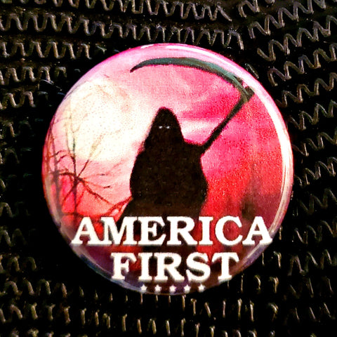 America First 2020  1.25 inch Pinback Button or Magnet