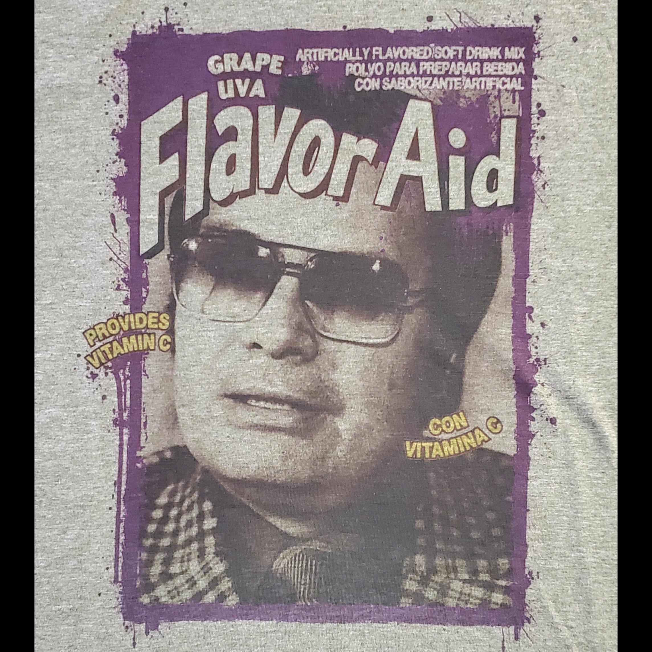 Jim Jones Flavor T-shirt - Heather Olive