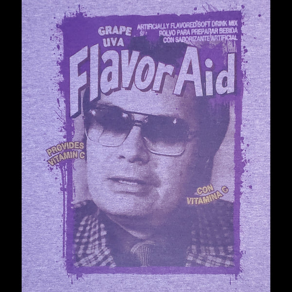 Jim Jones Flavor T-shirt - Heather Purple