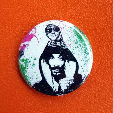 Snoop Dome  1.25 inch Pinback Button or Magnet