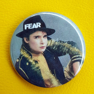 Corey Feldman Fear 1.25 inch Pinback Button or Magnetl