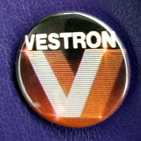 Vestron Video Vintage Vibe 1.25 inch Pinback Button or Magnet