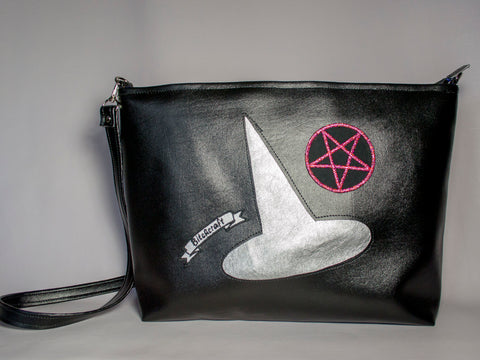 Sparkle Witch Bitchcraft Tote Bag Large